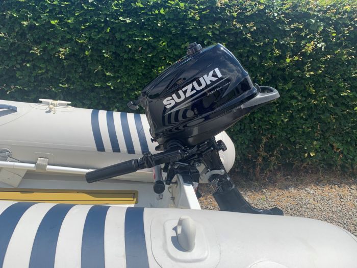 Excel Virago 310 and Suzuki 6hp outboard