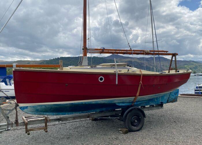 Cornish Shrimper Trailer Sailer for Sale