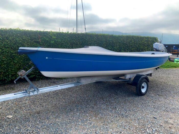 Laser 16 Motor boat